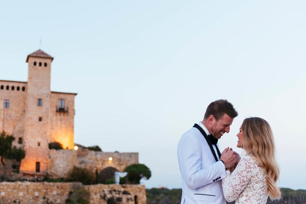 Boda en Castillo de Tamarit