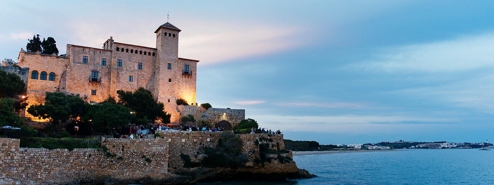 Atardecer en Castillo Tamarit